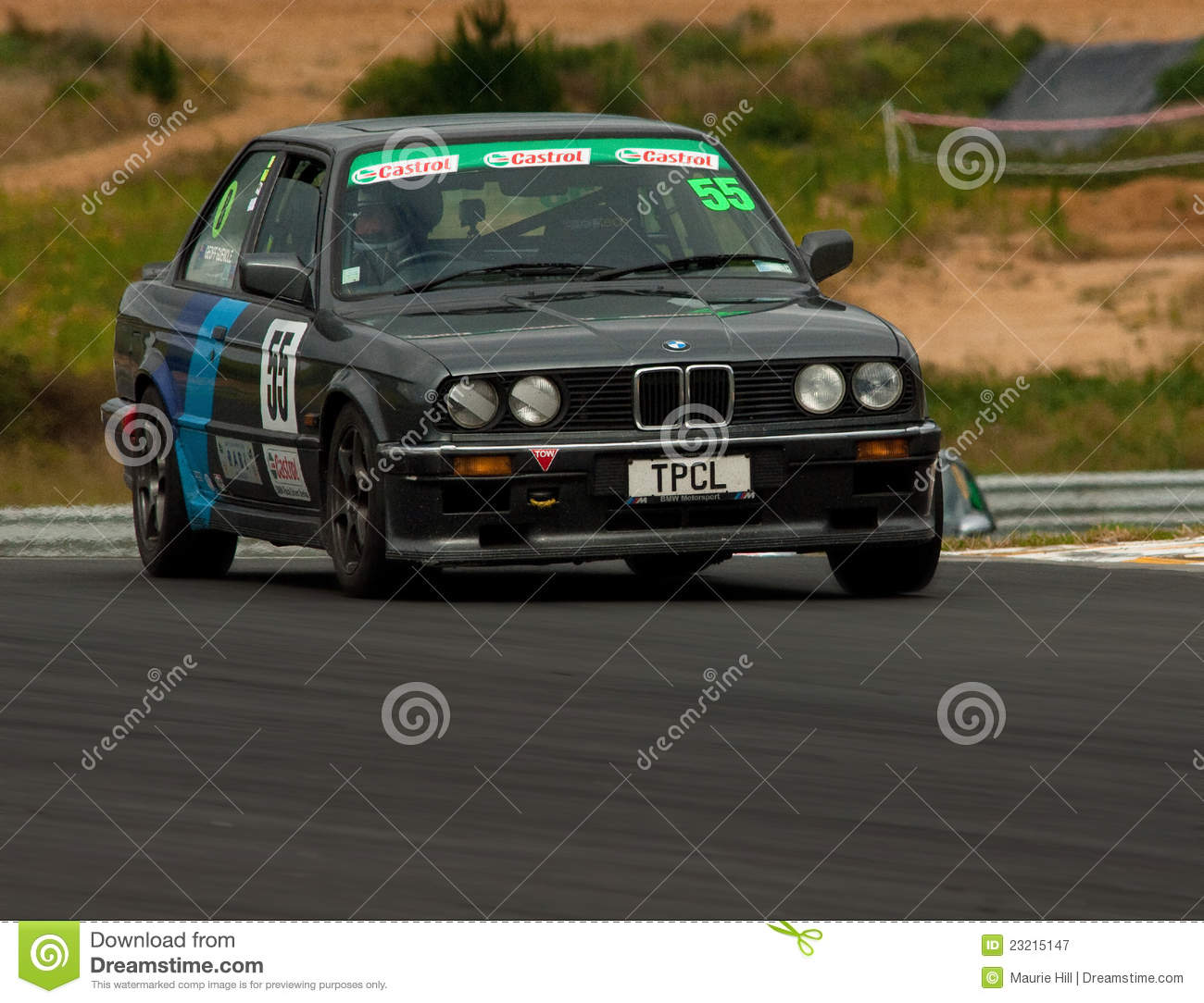 Motorsport Bmw E30 320i Editorial Photography Image Of