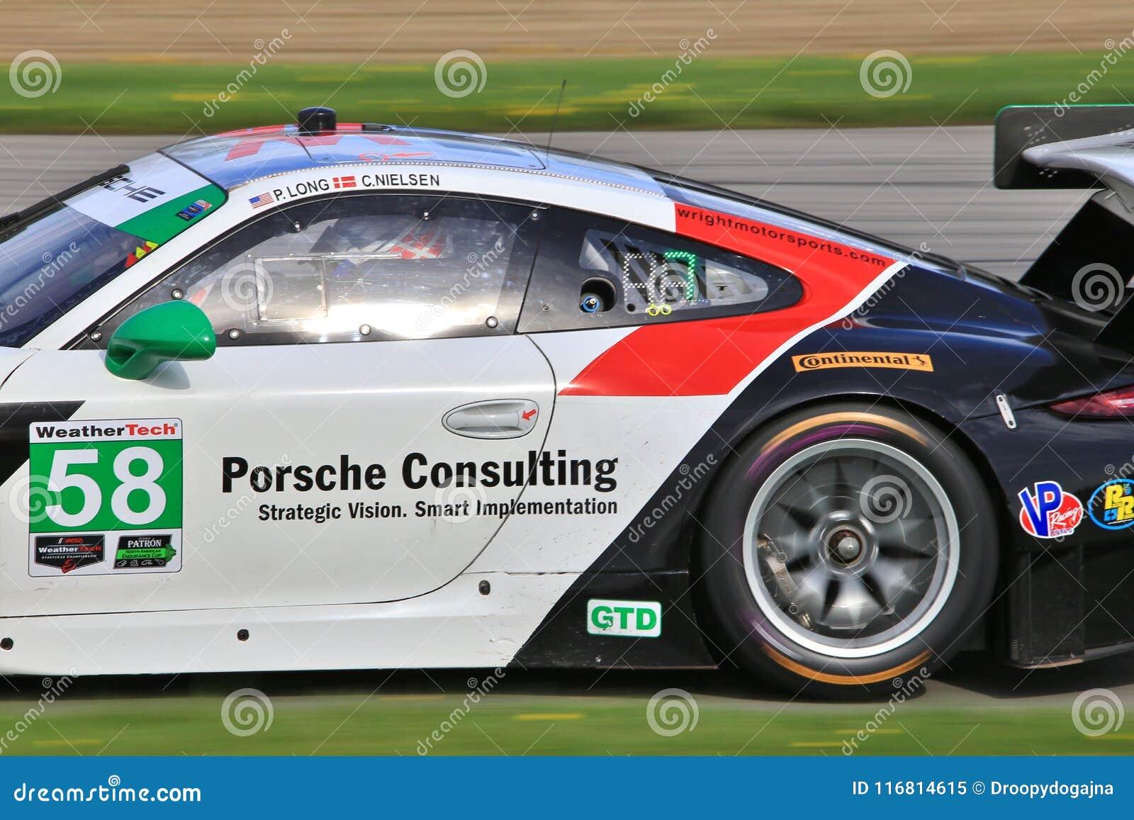 Motorsports professionale di Porsche GT