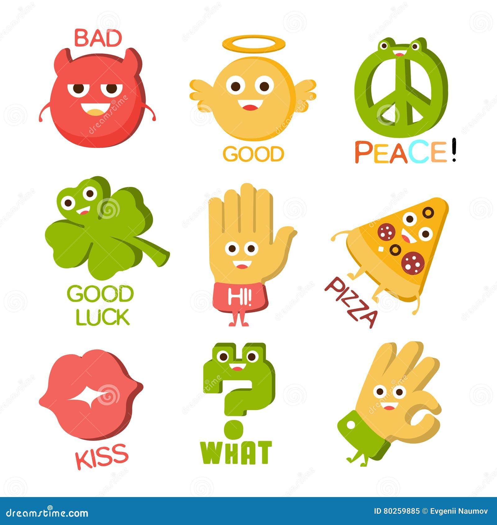 mots et illustrations correspondantes objets de personnage de dessin anim avec des yeux illustrant l