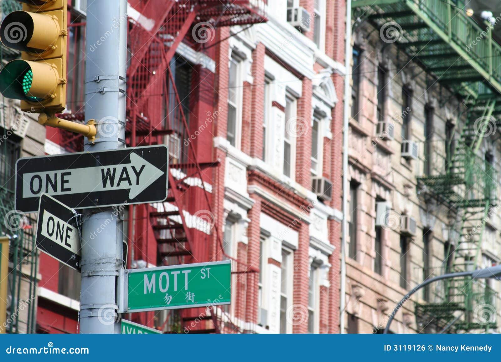 Mott Street, Manhattan