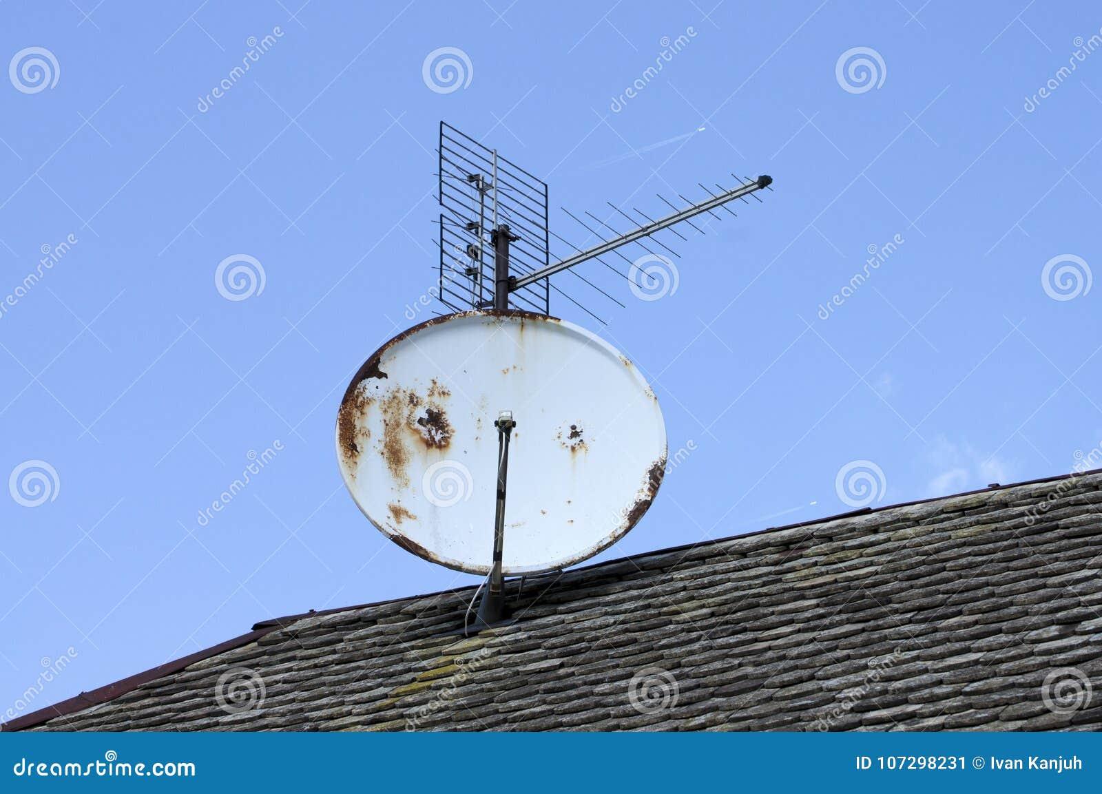 Mottagareteknologi på taket