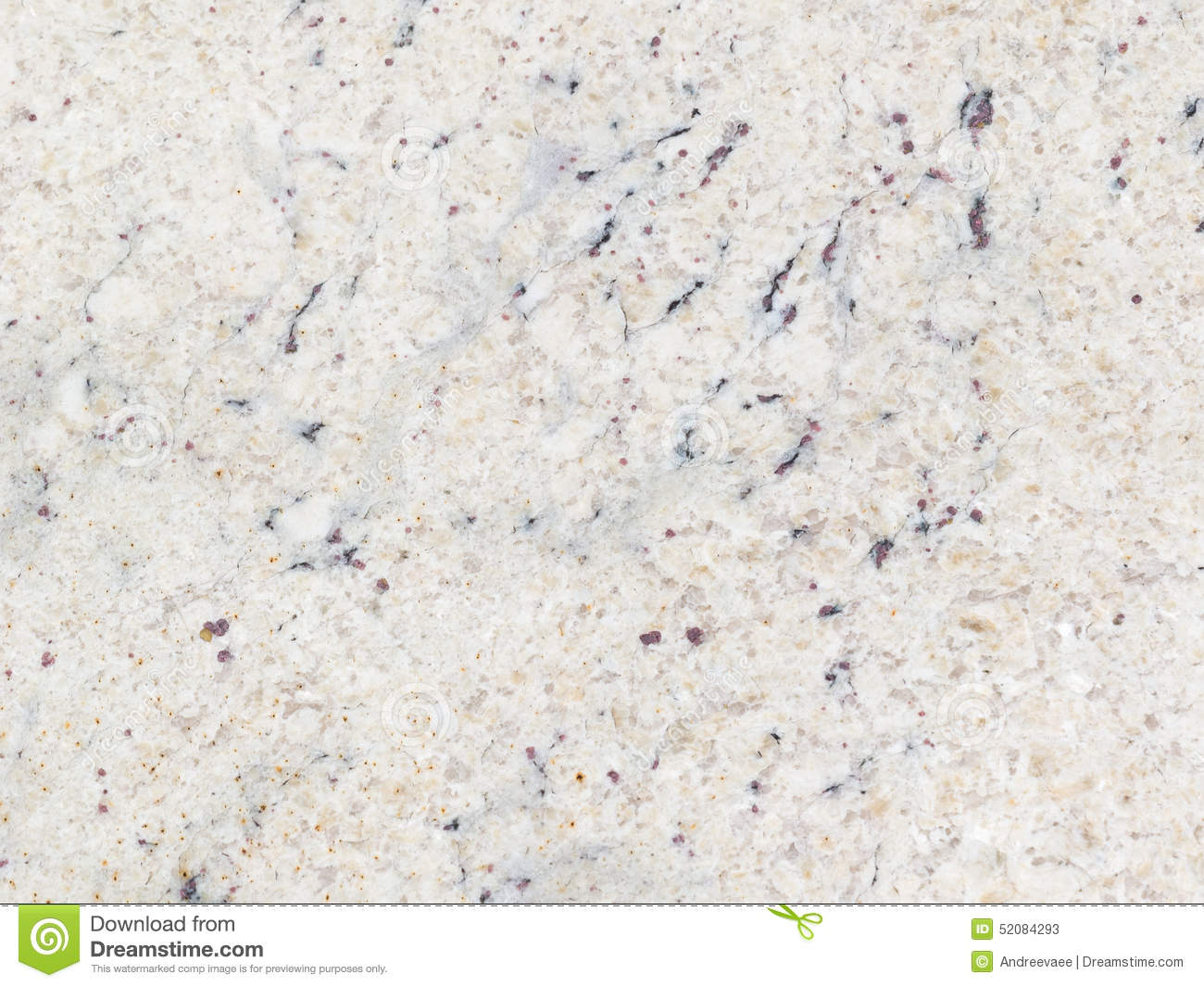 Light Brown Granite : Mottled light gray beige granite stock image of
