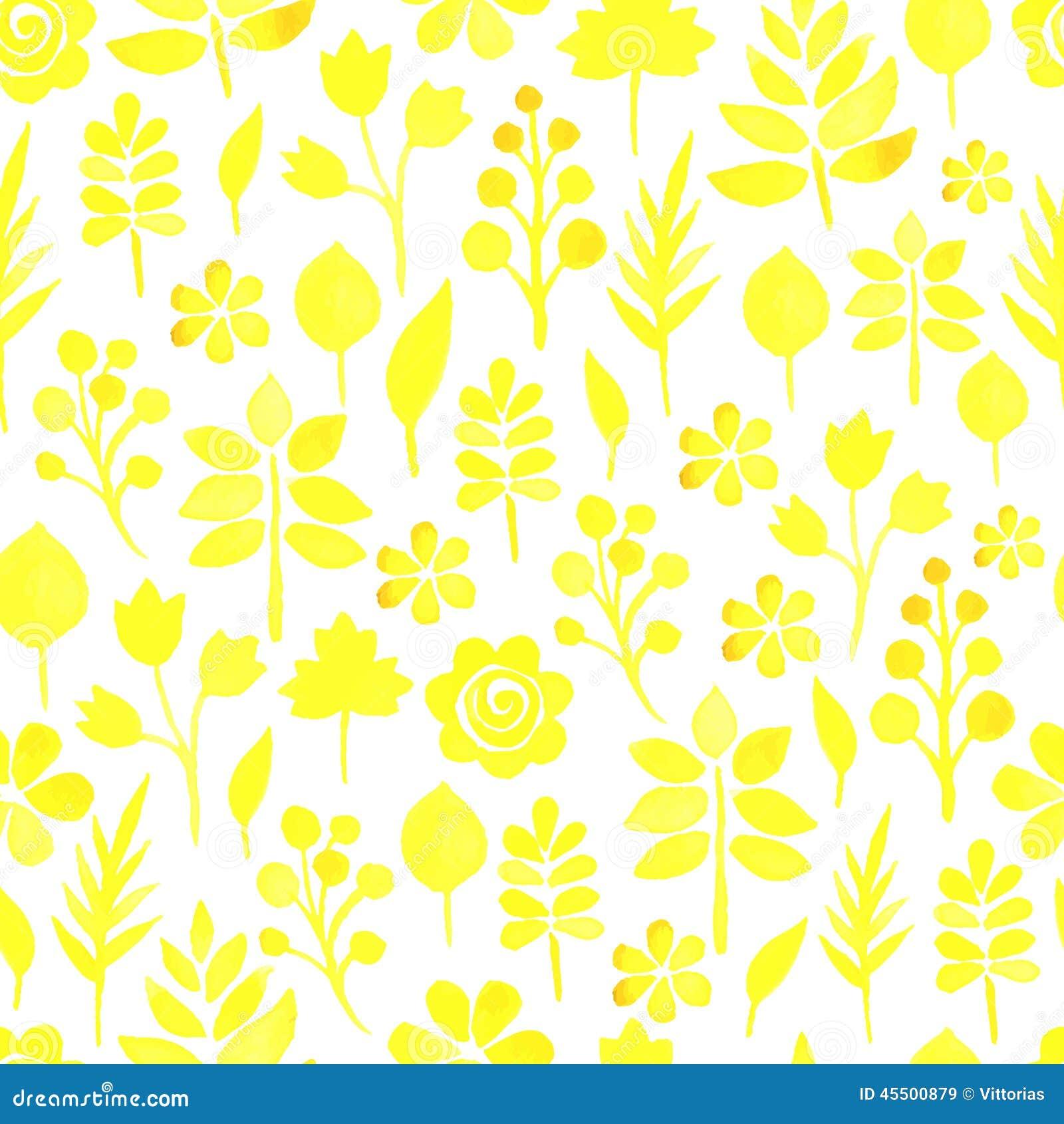 Motyla opadowy kwiecisty kwiatów serca wzoru kolor żółty