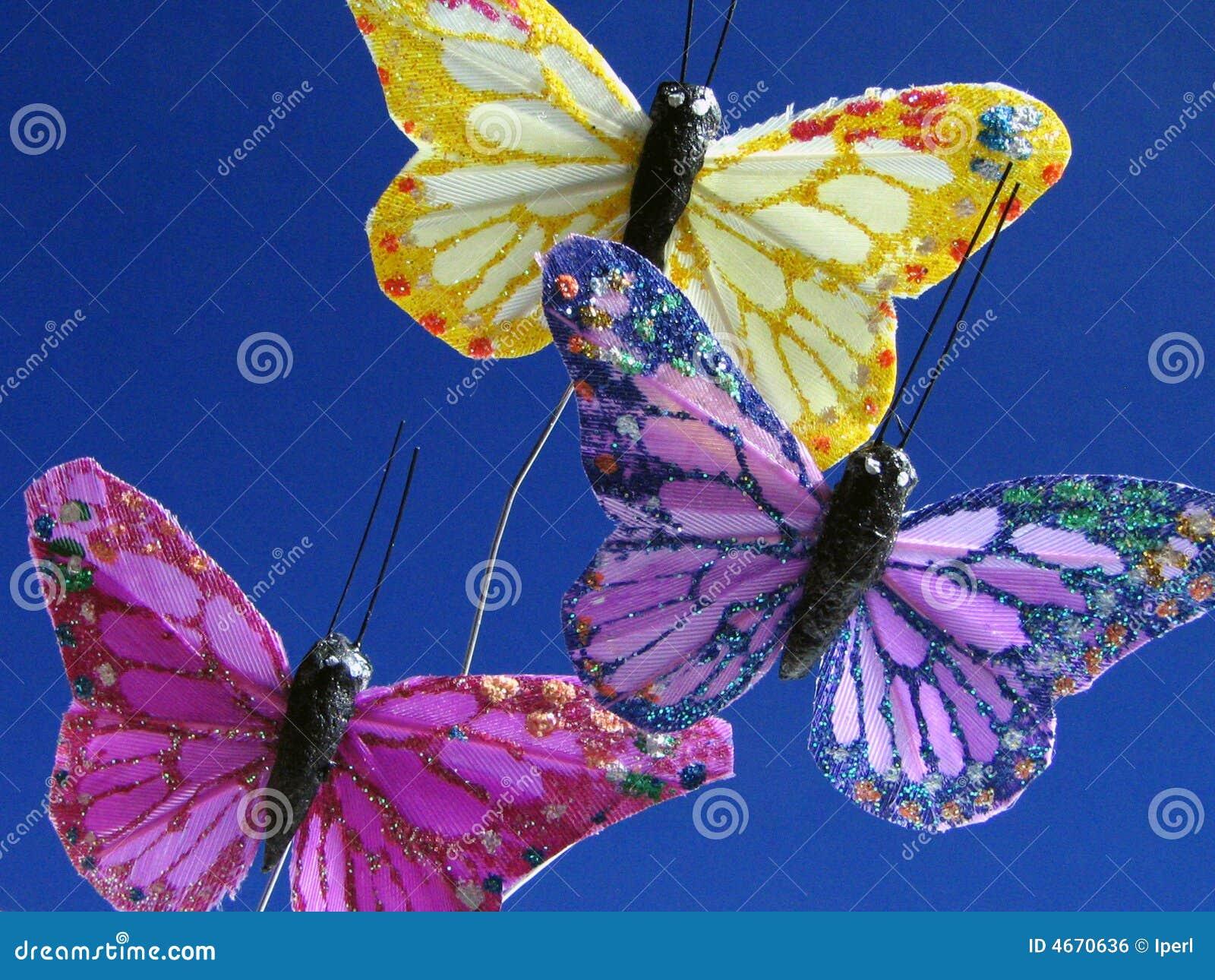 Motyle niebieskie