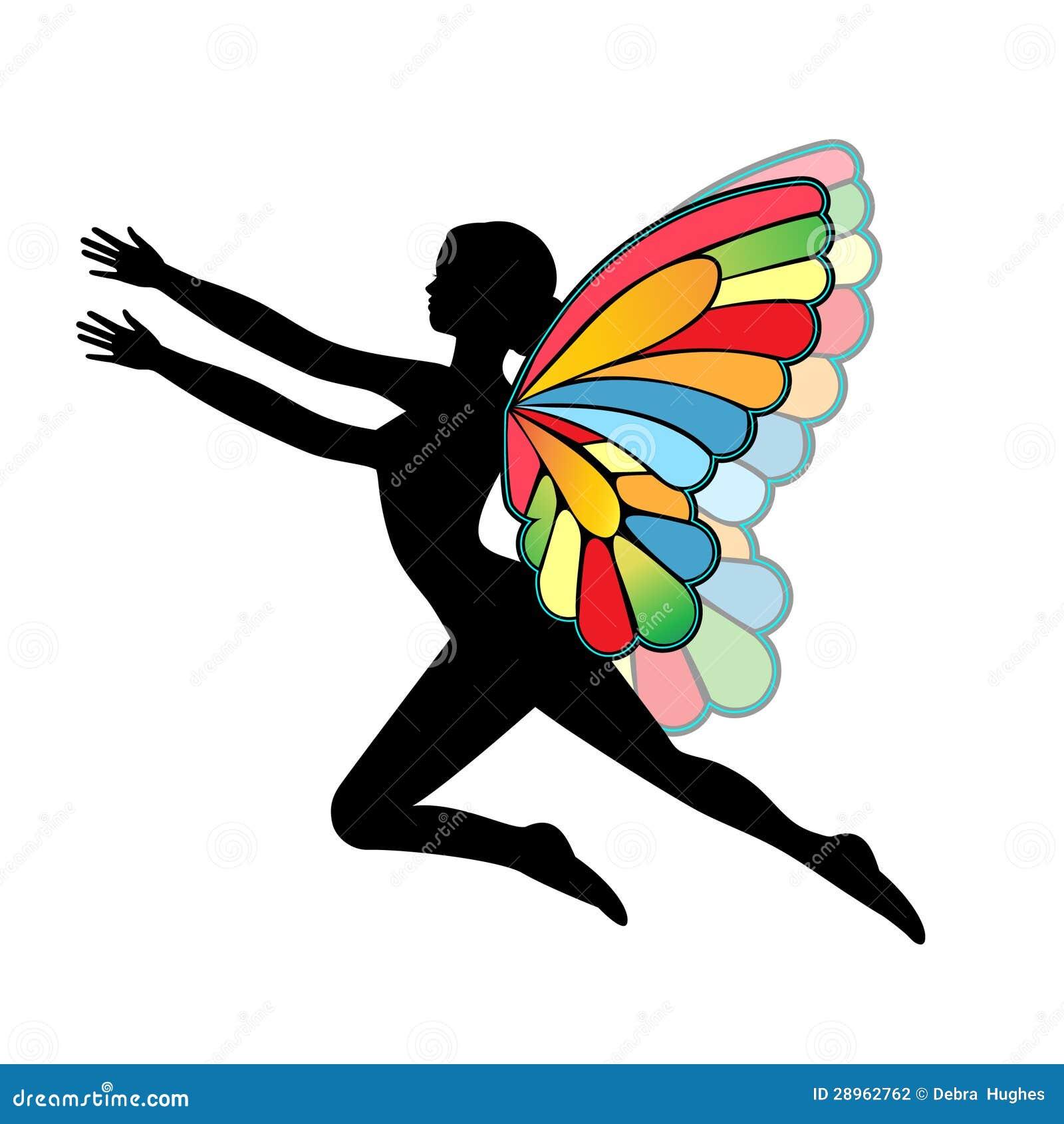 Motylia kobieta