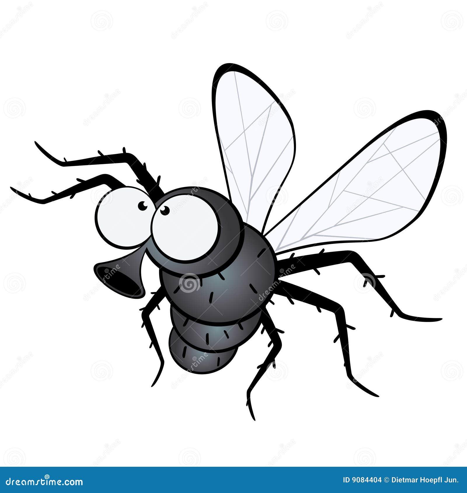 Mouche de dessin anim illustration de vecteur - Dessin de mouche ...