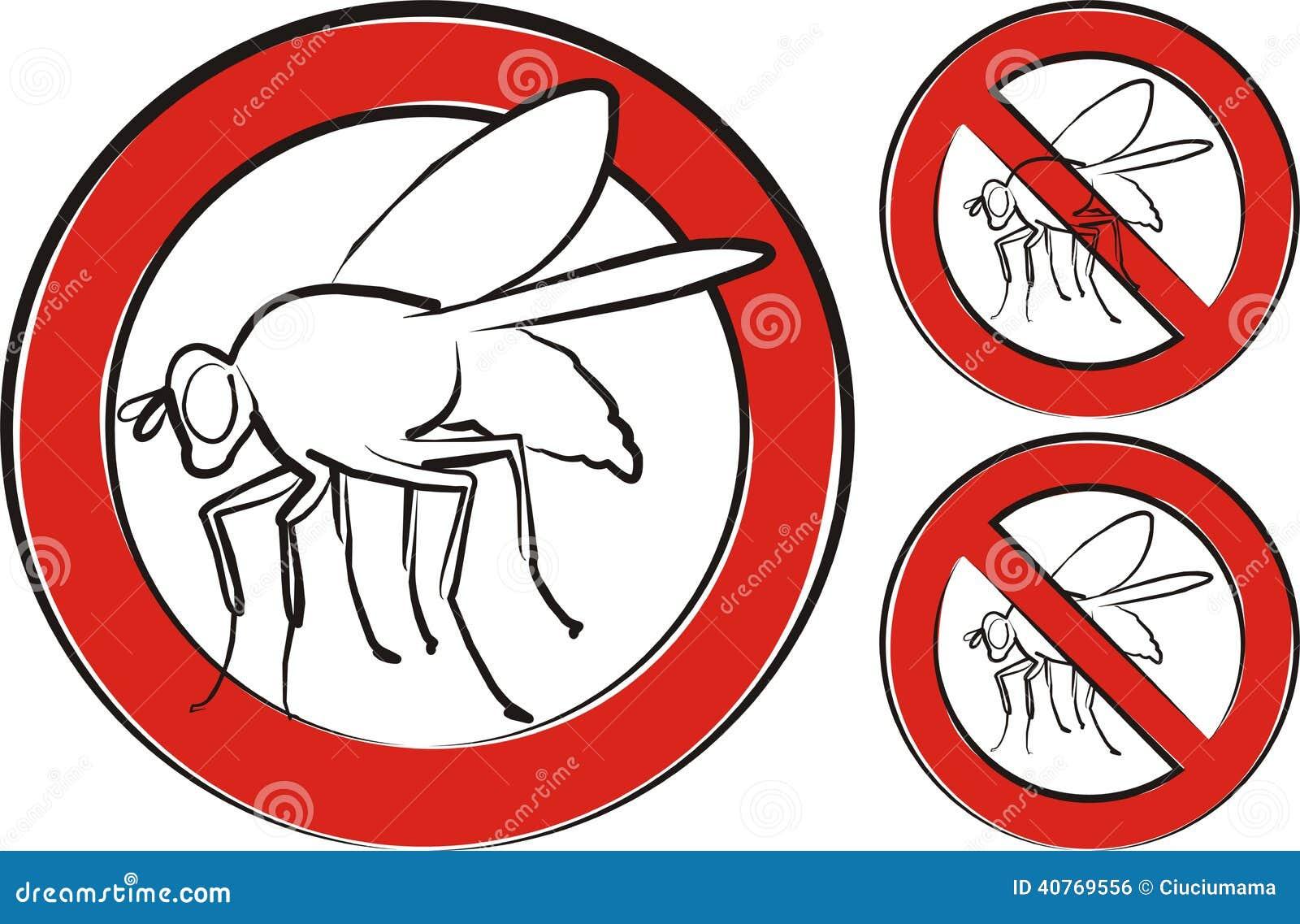 mouche domestique panneau d 39 avertissement illustration stock image 40769556. Black Bedroom Furniture Sets. Home Design Ideas