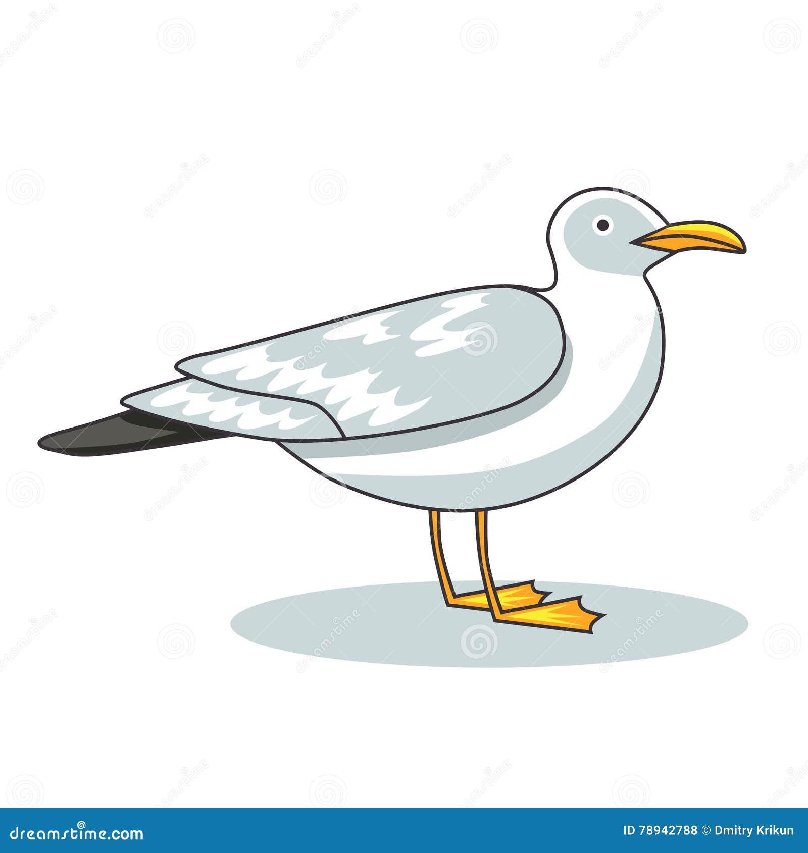 Mouette oiseau de vol et mouette de l 39 oiseau marin - Dessins de mouettes ...
