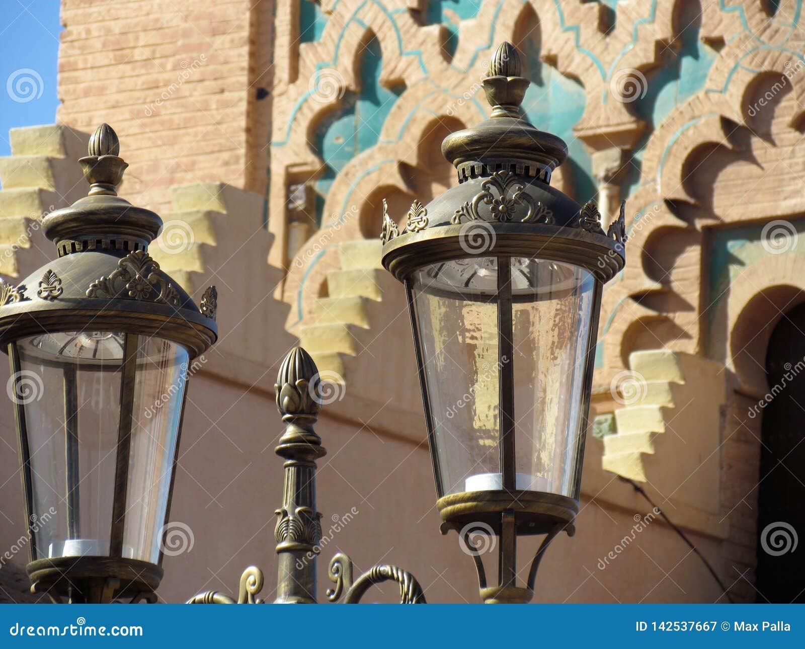 Moulay El Yazid Mosque nel vecchio Medina di Marrakesh