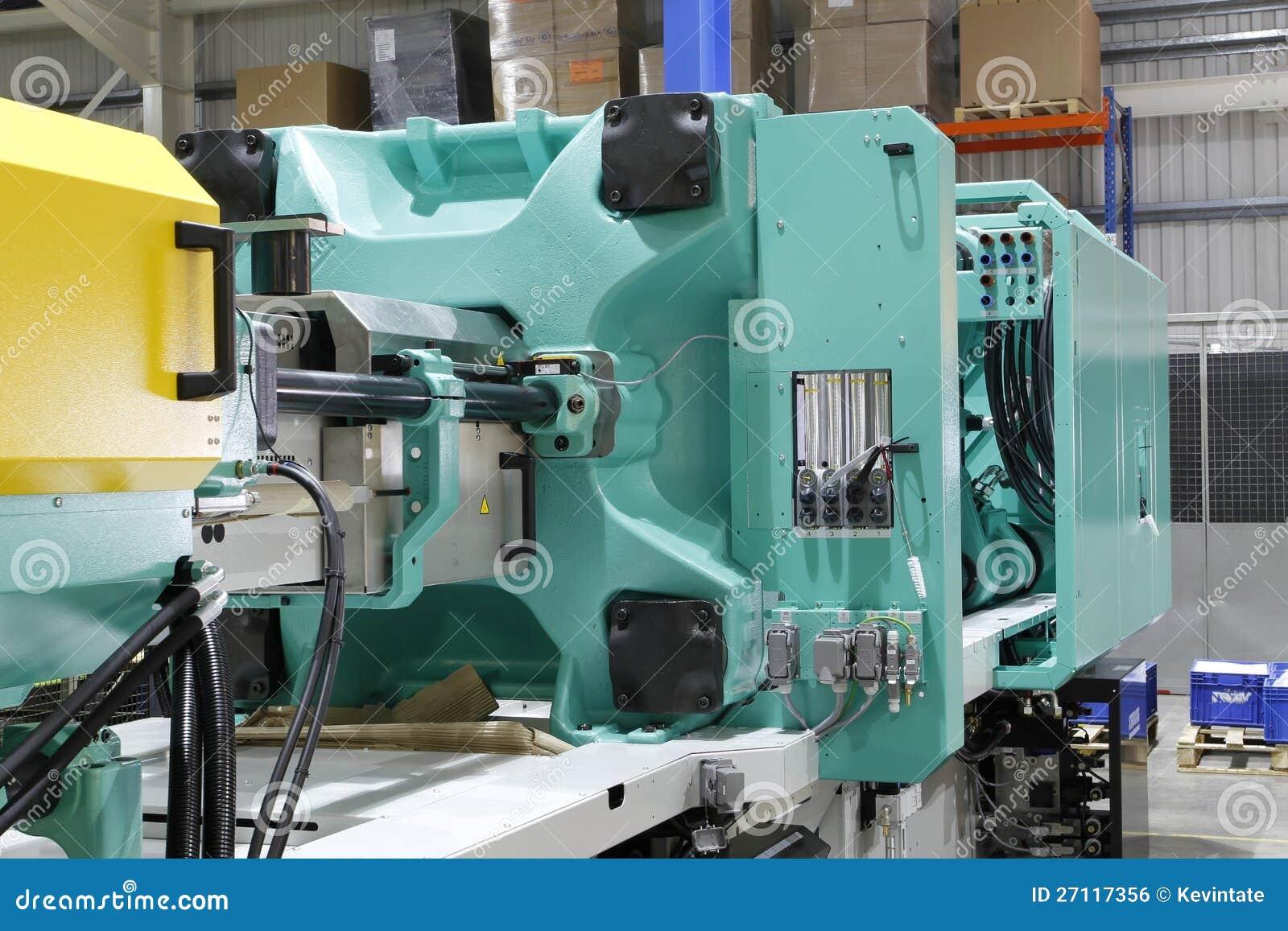 Moulding maskin för injektion