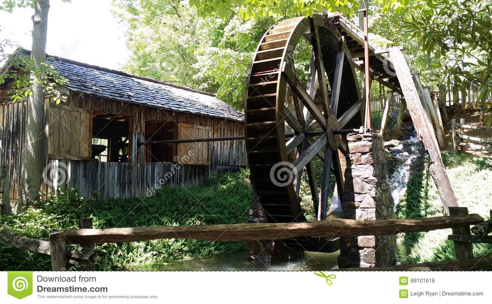 Moulin à eau chez Georgia Mountain Fairgrounds dans Hiawasse la Géorgie