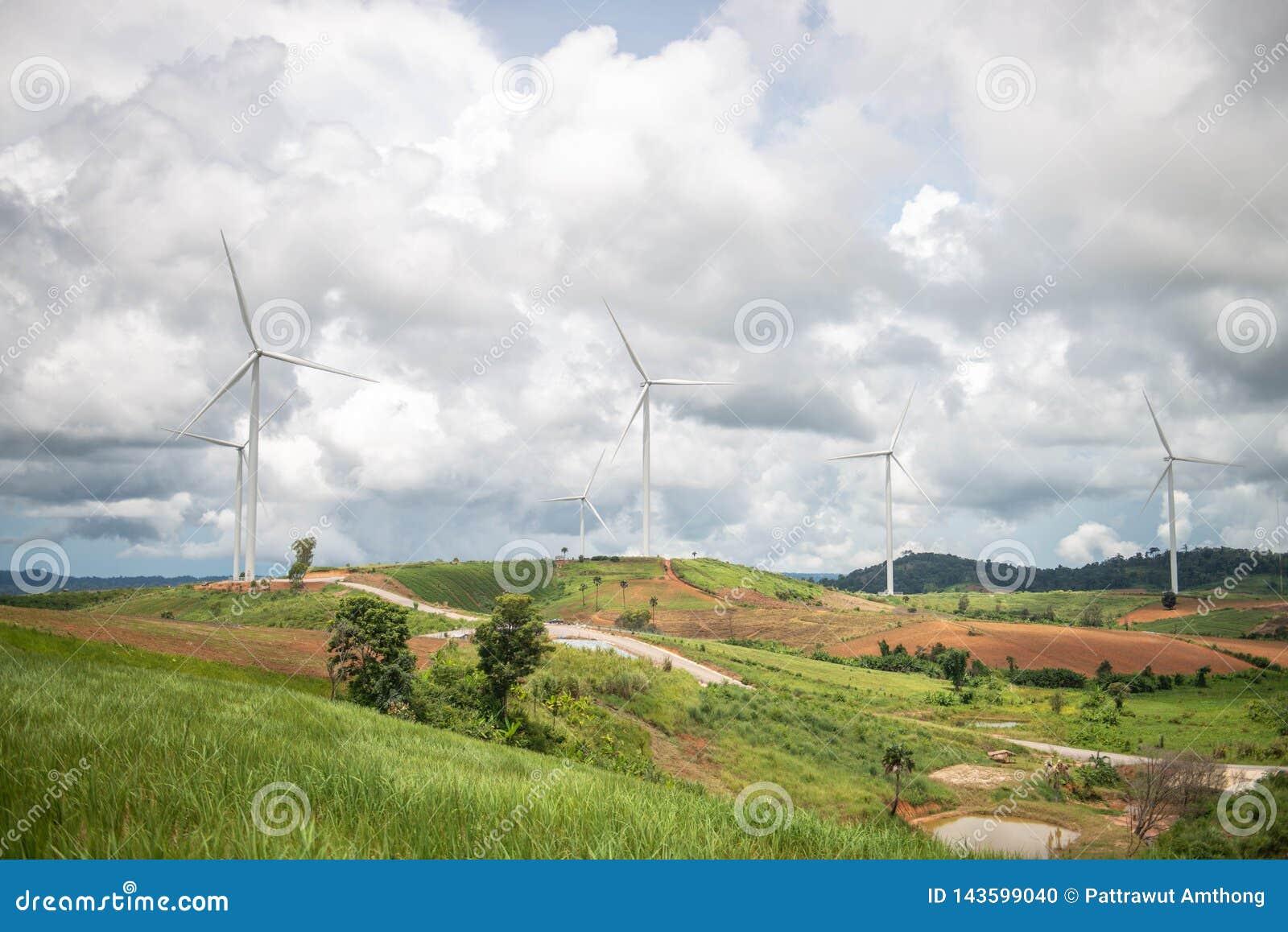 Moulins à vent pour la production d Electric Power