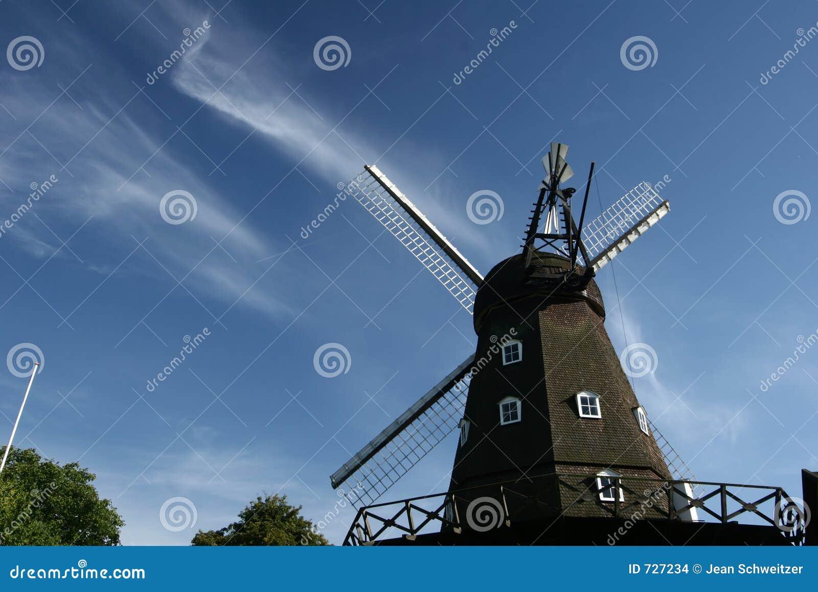 Moulins de vent antiques
