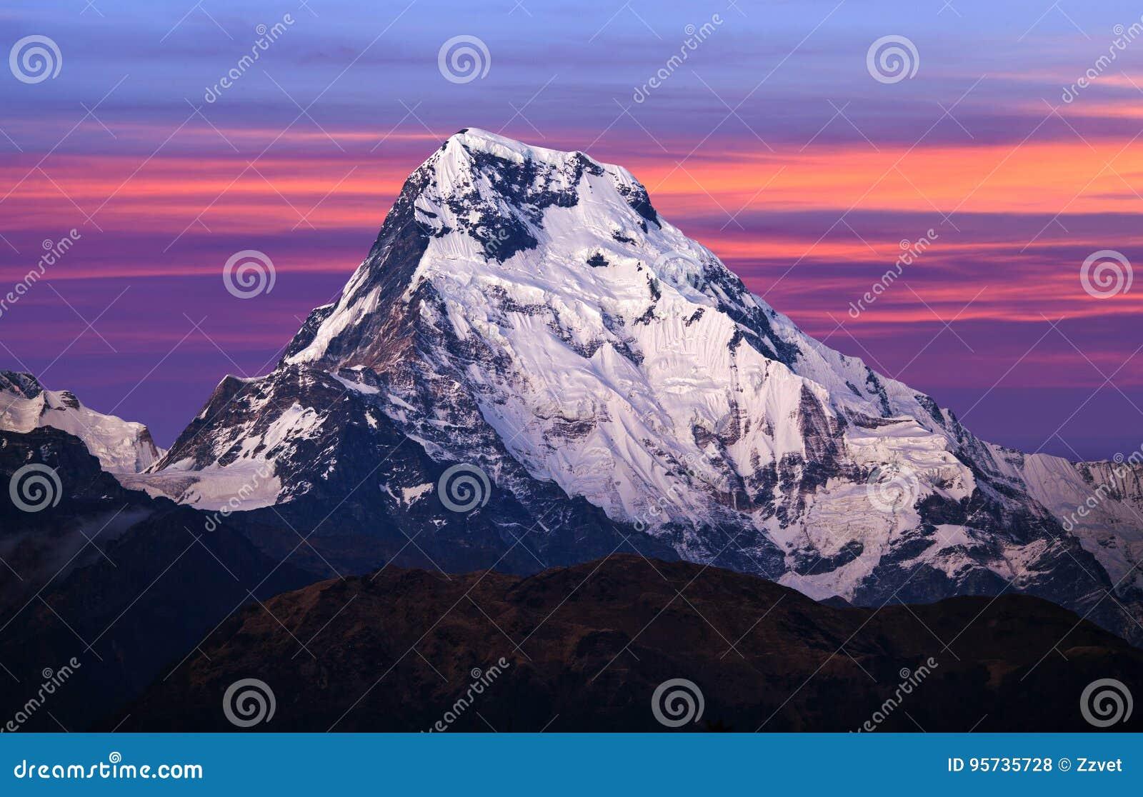 Mount Annapurna South, Nepal