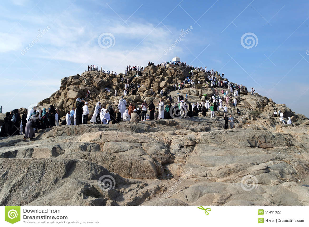 Jabal arafat editorial image 25589814 for Mercy mount