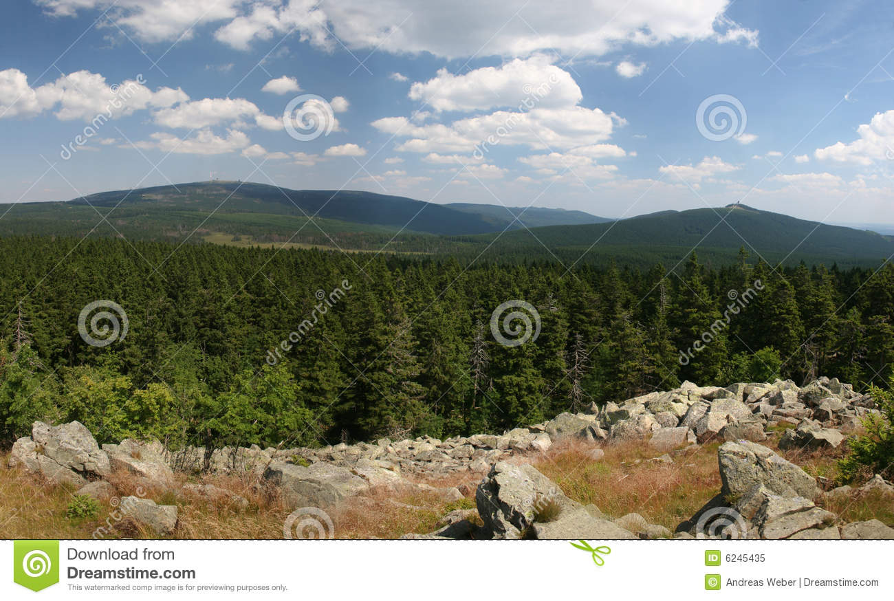 Mount Brocken (Harz) in Germany