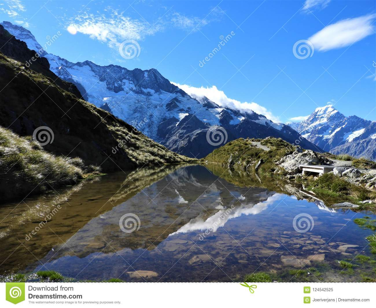 Mount cook national park is a real gem stock image image of bridge download mount cook national park is a real gem stock image image of bridge publicscrutiny Image collections