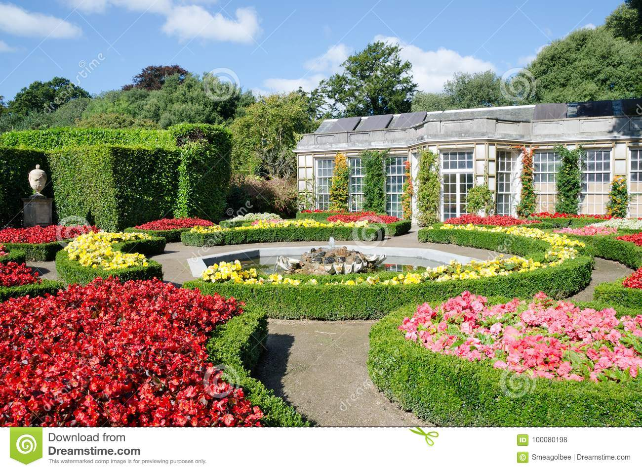 Download The Italian Garden Mount Edgcumbe Country Park Editorial Stock Photo