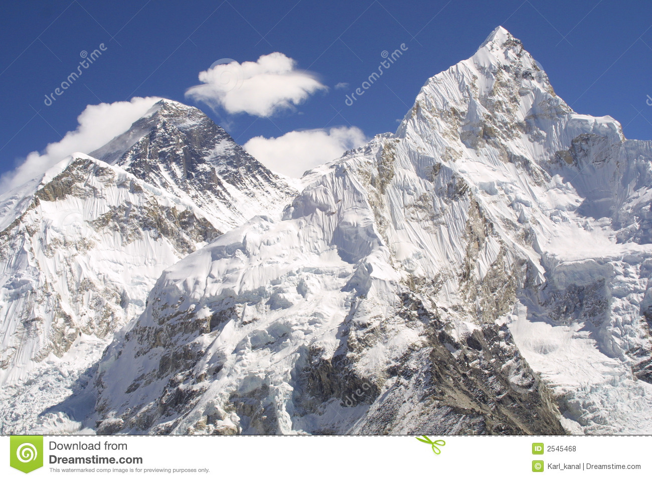 mount everest and nuptse royalty stock photos image 2545468 mount everest and nuptse