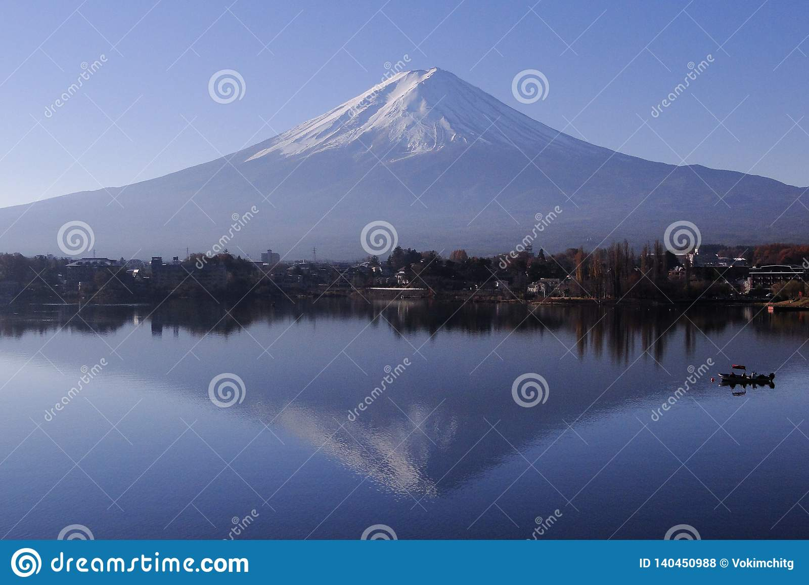 Mount Fuji - ett iconic av Japan