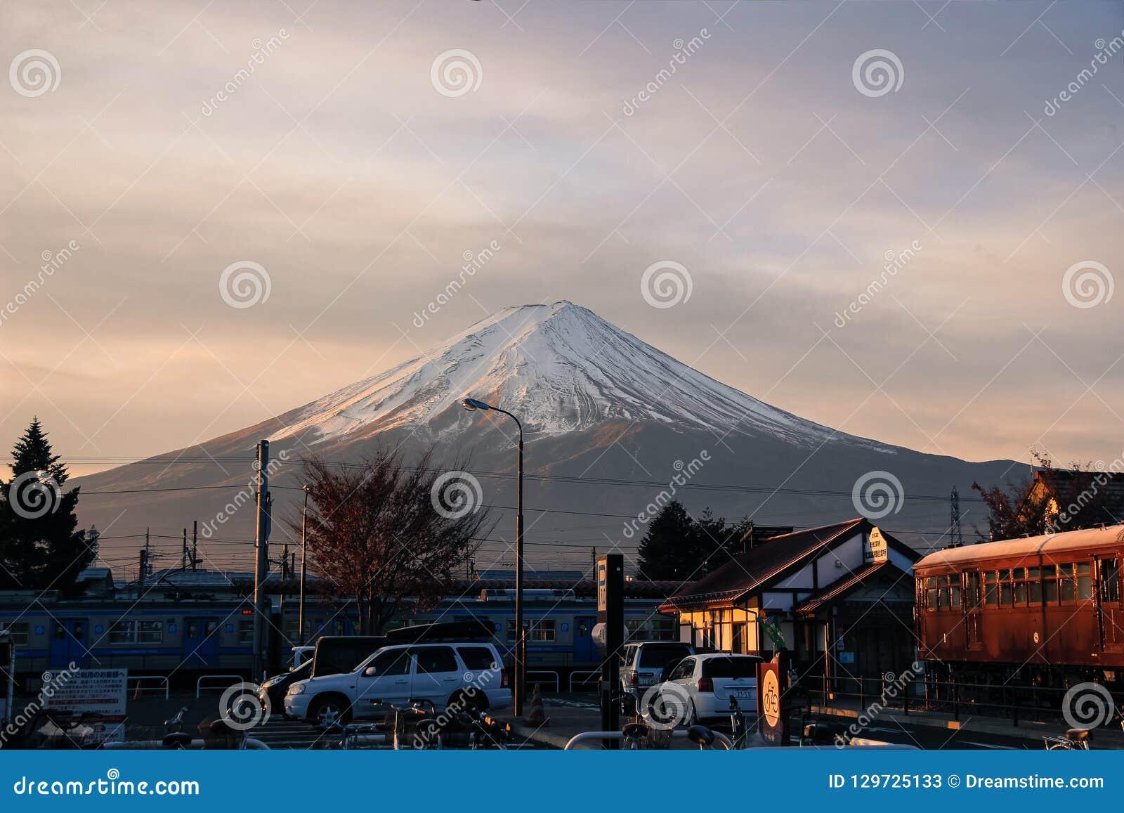 Mount Fuji `Fuji-san`