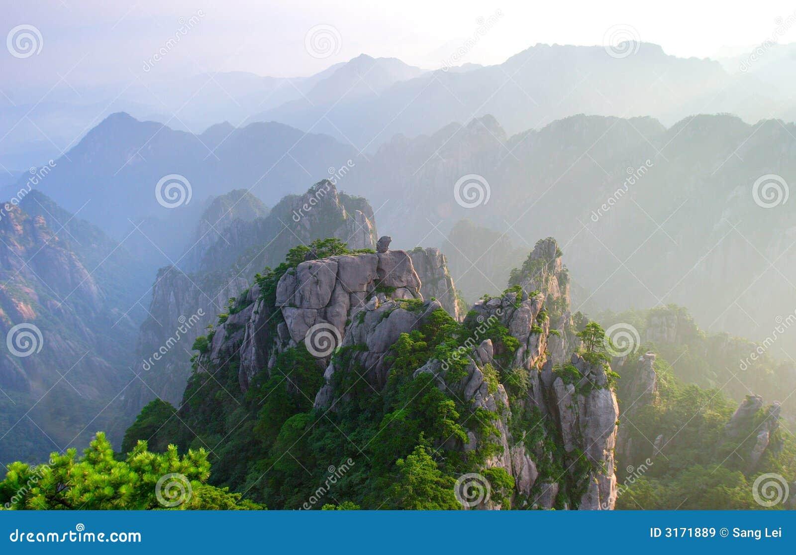 mount hangshan sunrise