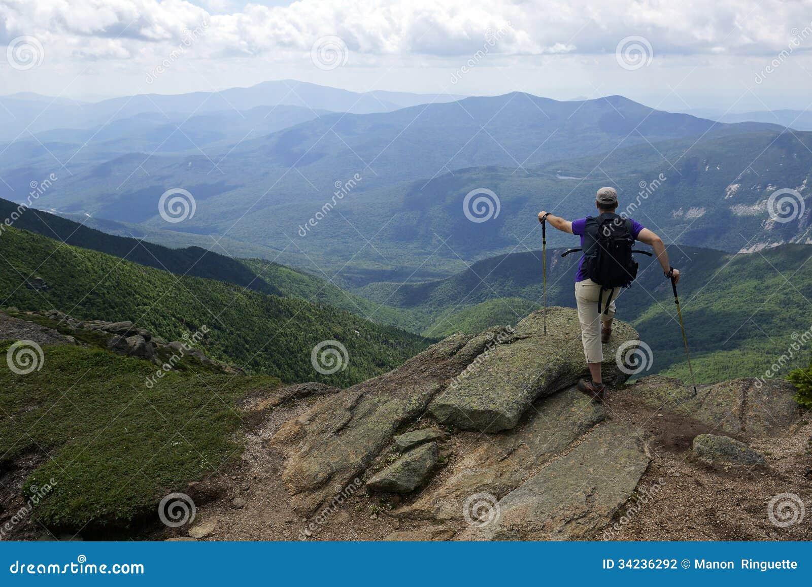 Mount Lafayette White Mountains New Hampshire Stock