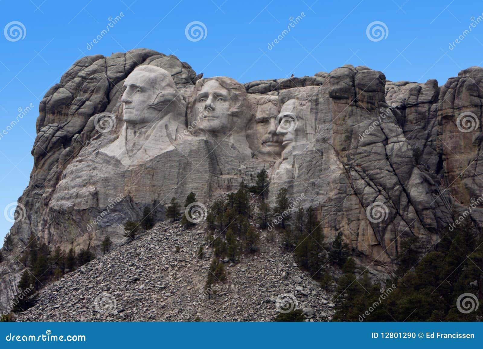 Mount rushmore stock photo image