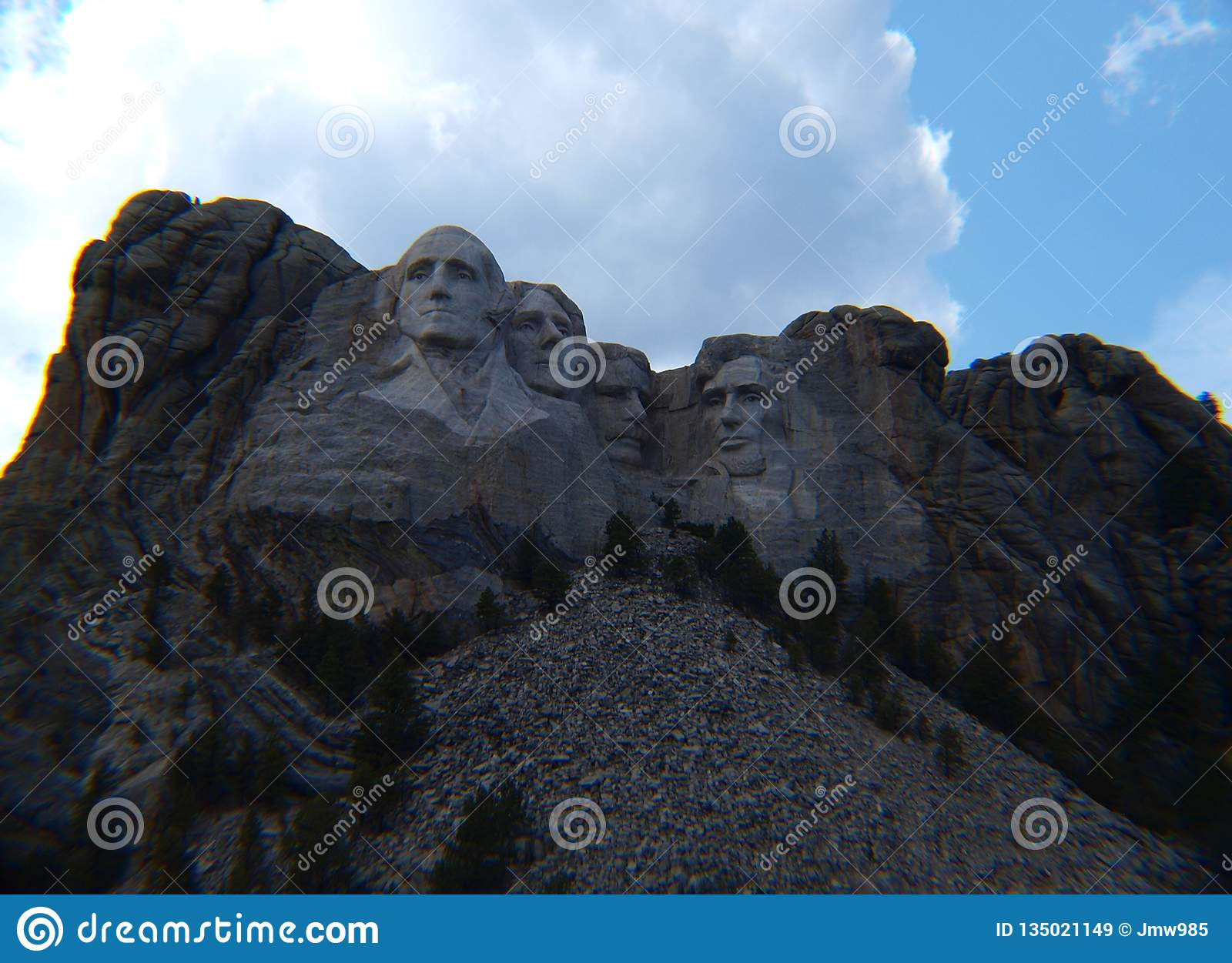 Mount Rushmore in all its magnificence