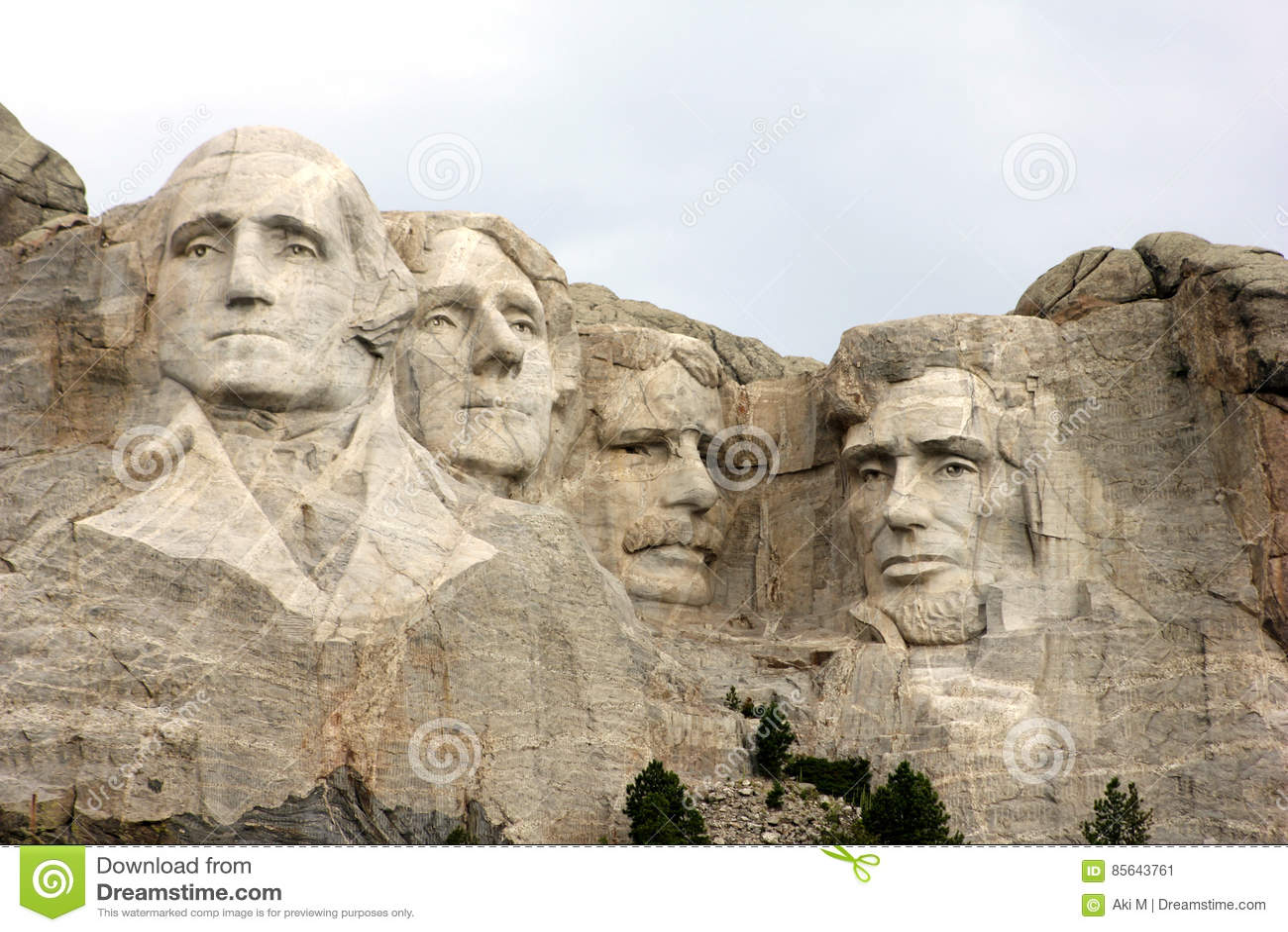 Mount Rushmore delstatspark i South Dakota