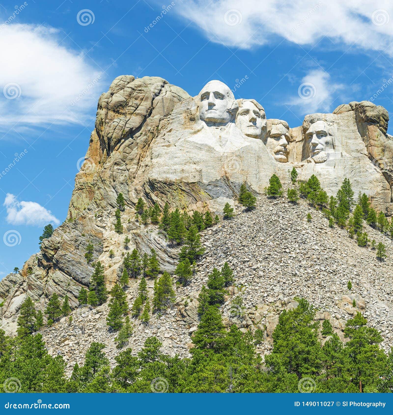 Mount Rushmore landskap, South Dakota