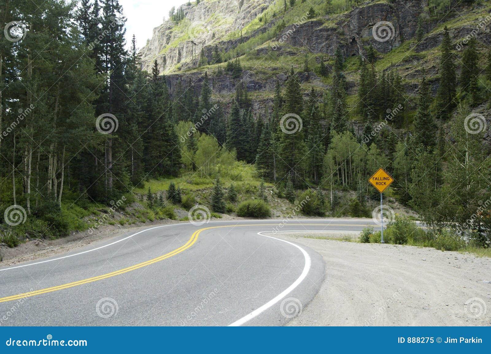 Mount sceniczna autostrady