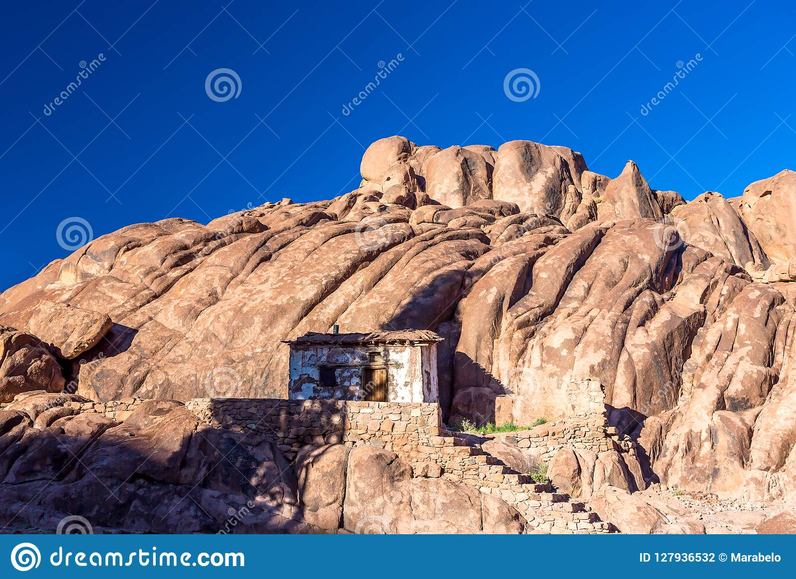 Mount Sinai, Mount Moses In Egypt  Stock Photo - Image of