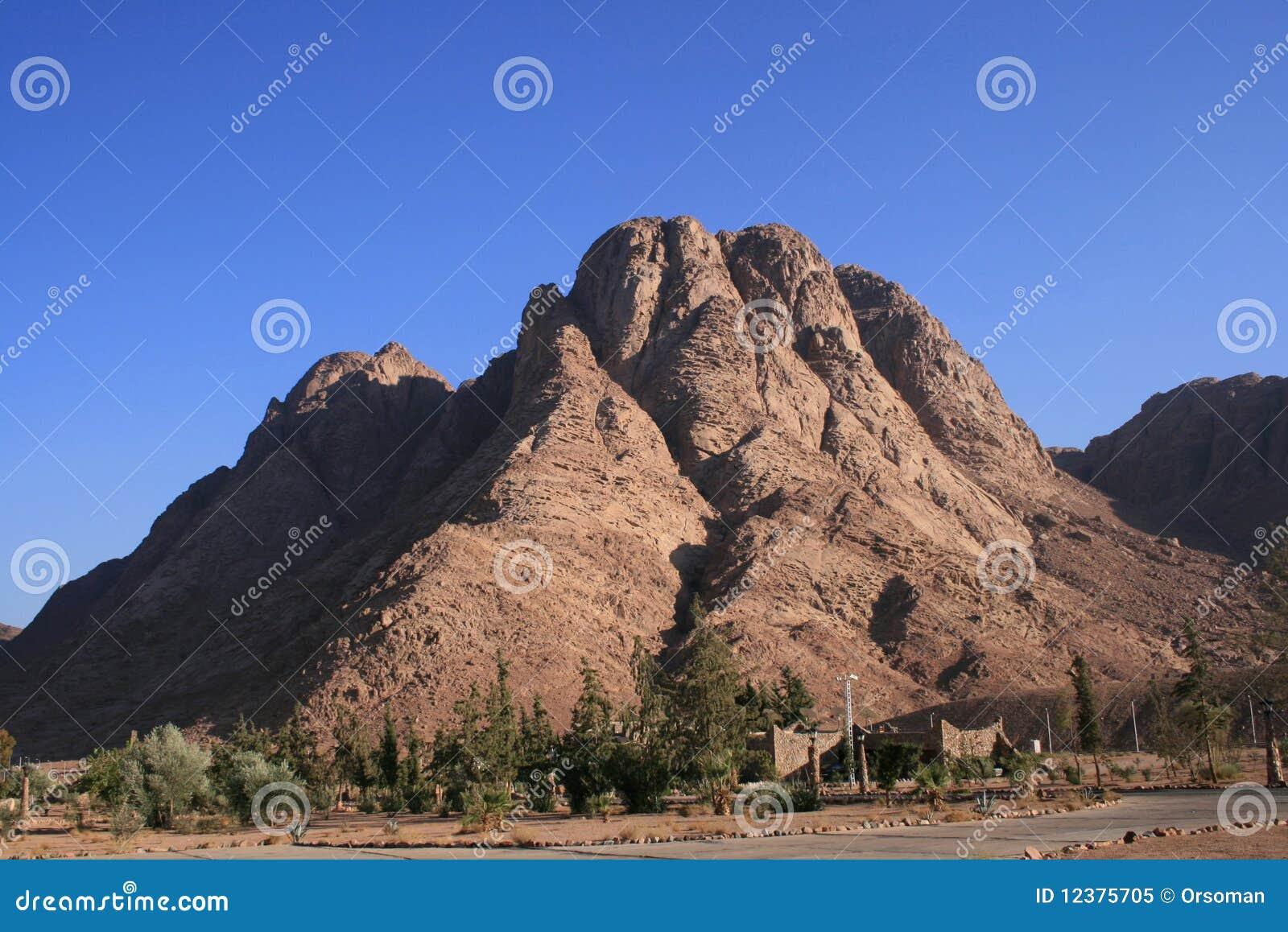 Mount Sinai Peak Royalty Free Stock Photo - Image: 12375705