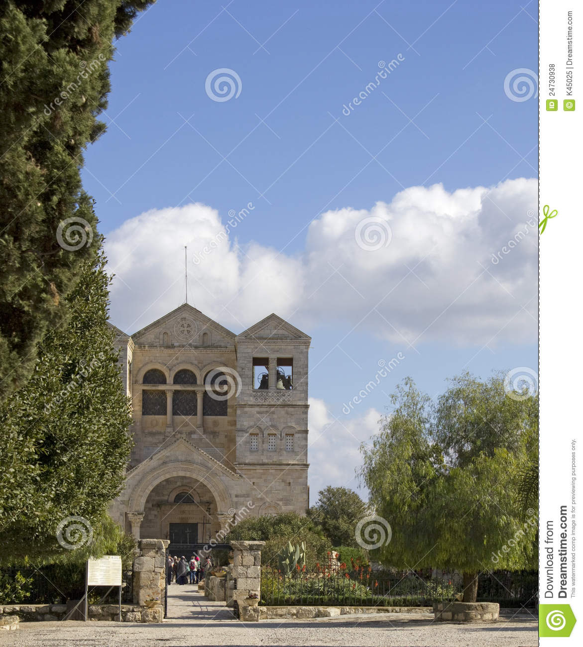 Mount Tabor Church Of The Transfiguration Royalty Free ...
