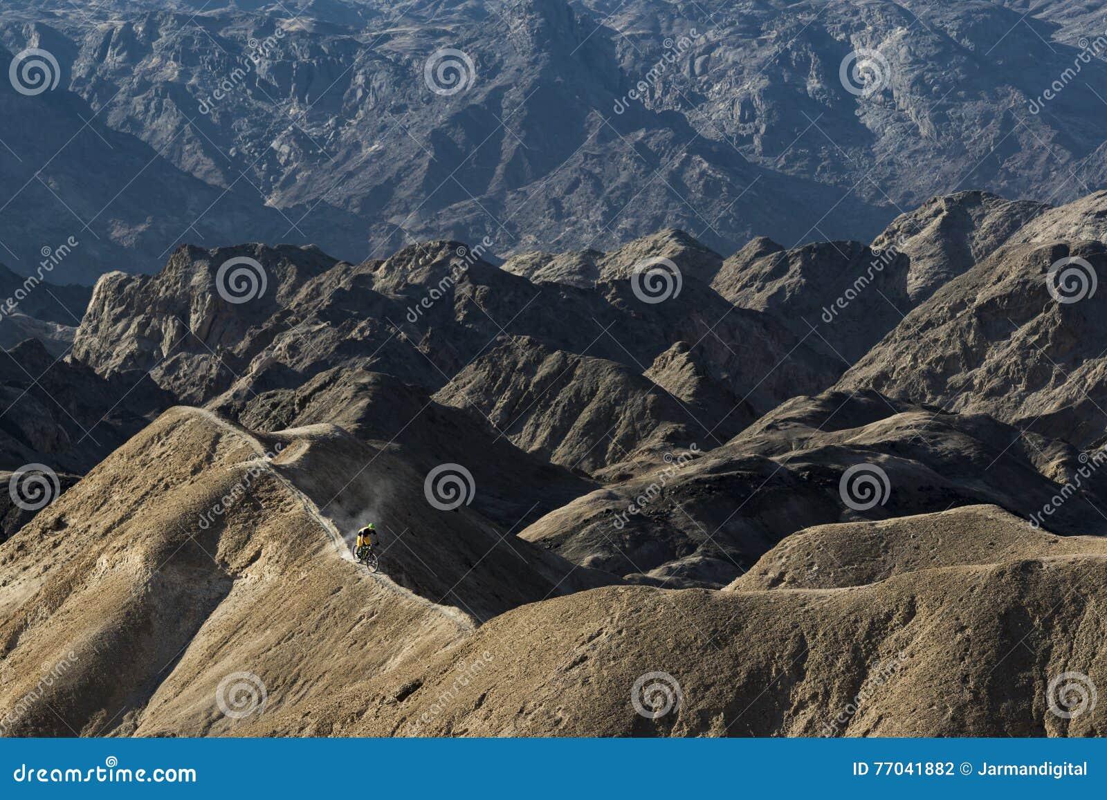 mountain biking stock photo image of free dunes ridges 77041882