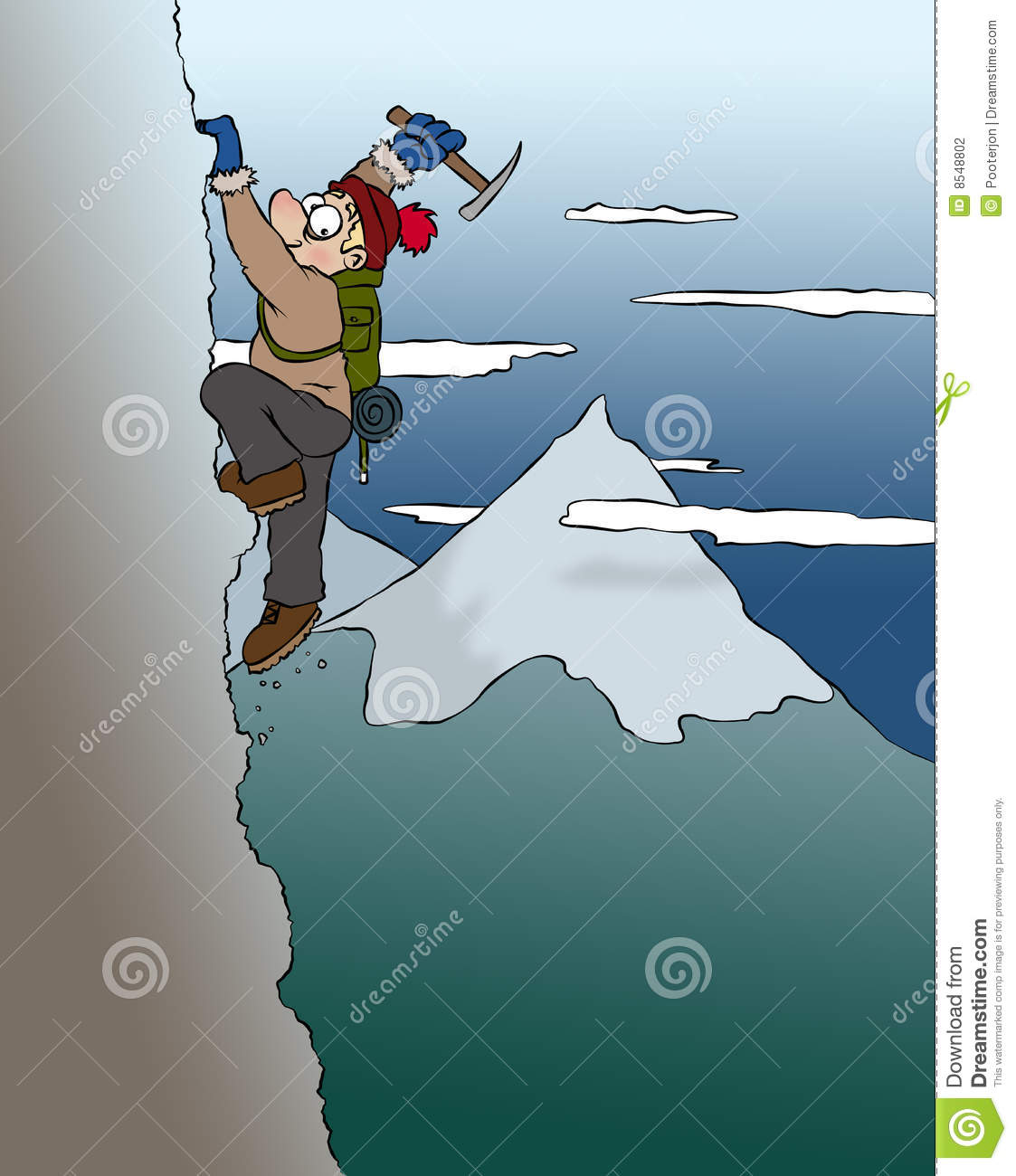 Mountain Climber Stock Photography - Image: 8548802