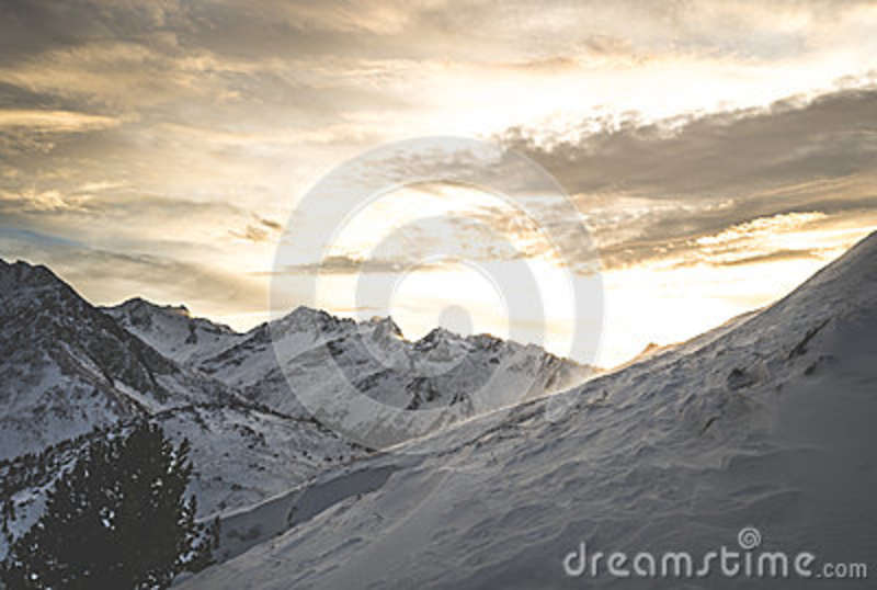 Download Mountain Coated By Snow During Day Time Stock Photo - Image of winter, free: 84996252