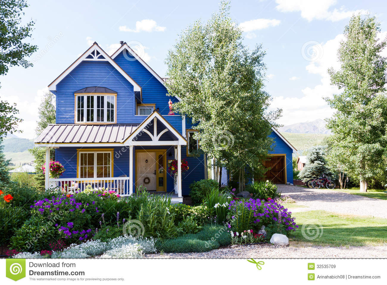 Mountain Home Royalty Free Stock Images Image 32535709