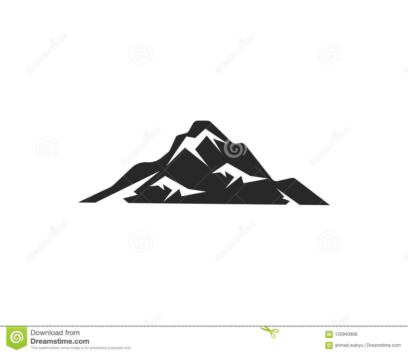 Mountain Icon Logo Business Template Stock Vector Illustration Of Design Isolated 120940906 Download the free graphic resources in the form of png, eps, ai. https www dreamstime com mountain icon logo business template vector mountain icon logo business template image120940906