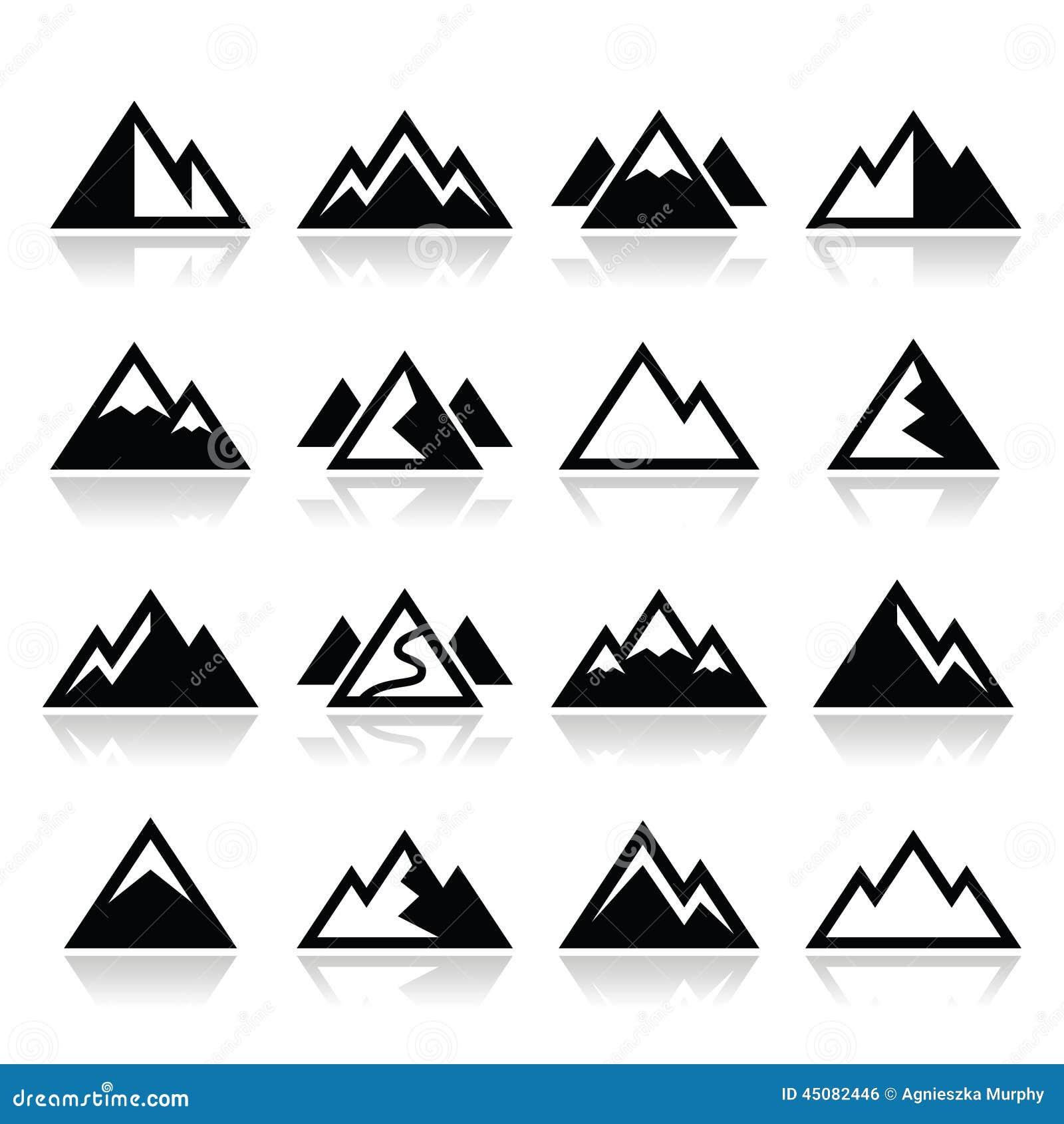 free vector clipart mountain - photo #41