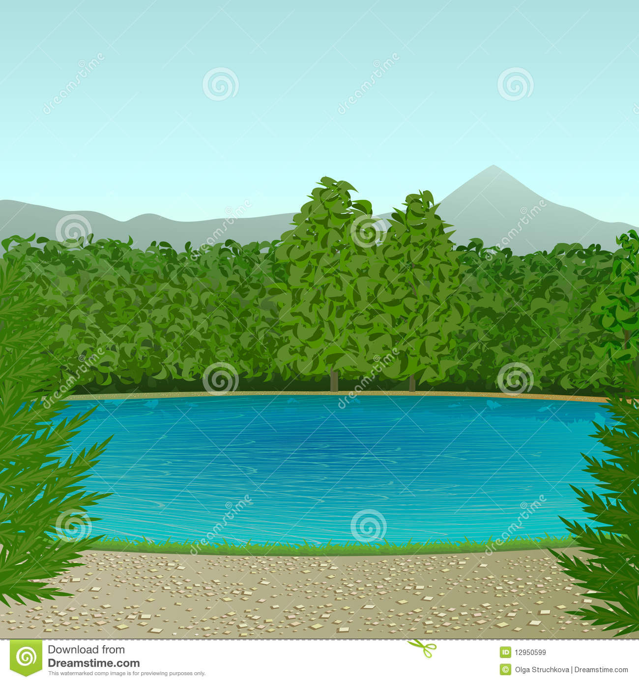 Displaying (16) Gallery Images For Lake Clipart...