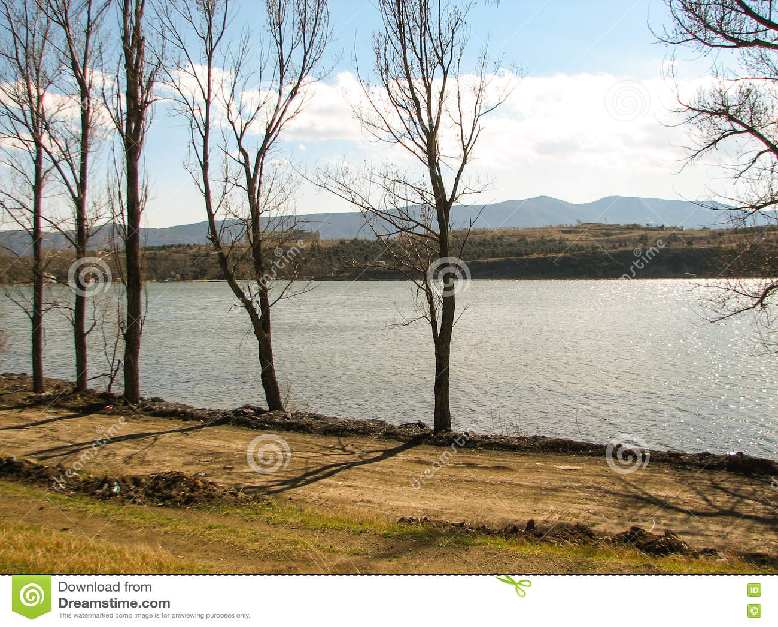 Mountain Lakes In Georgia Nutsubidze Tbilisi, Lisi Lake