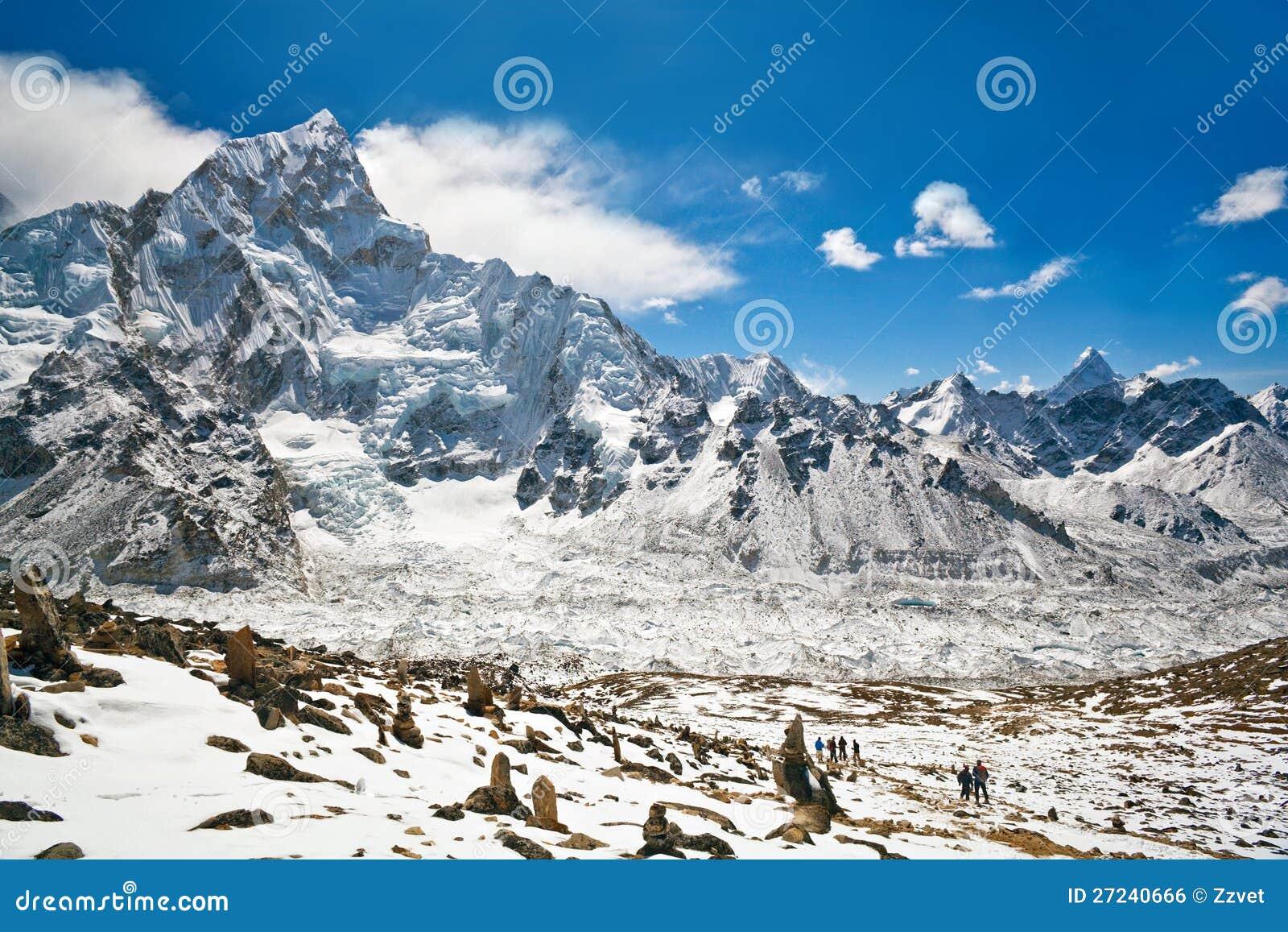 Everest Region (Nepal) Nepal  city images : Mountain Landscape In Everest Region, Nepal Royalty Free Stock Image ...