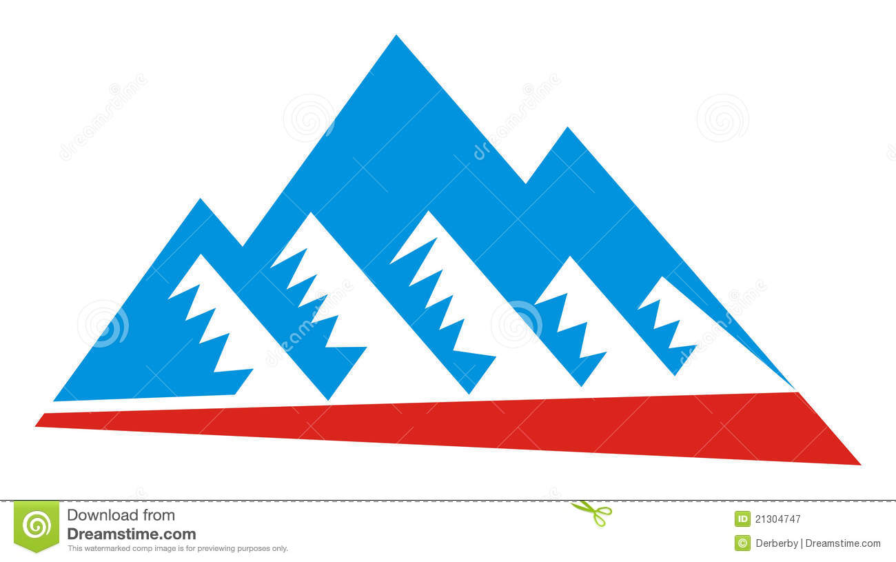 Royalty Free Stock Photography: Mountain logo Images - Frompo