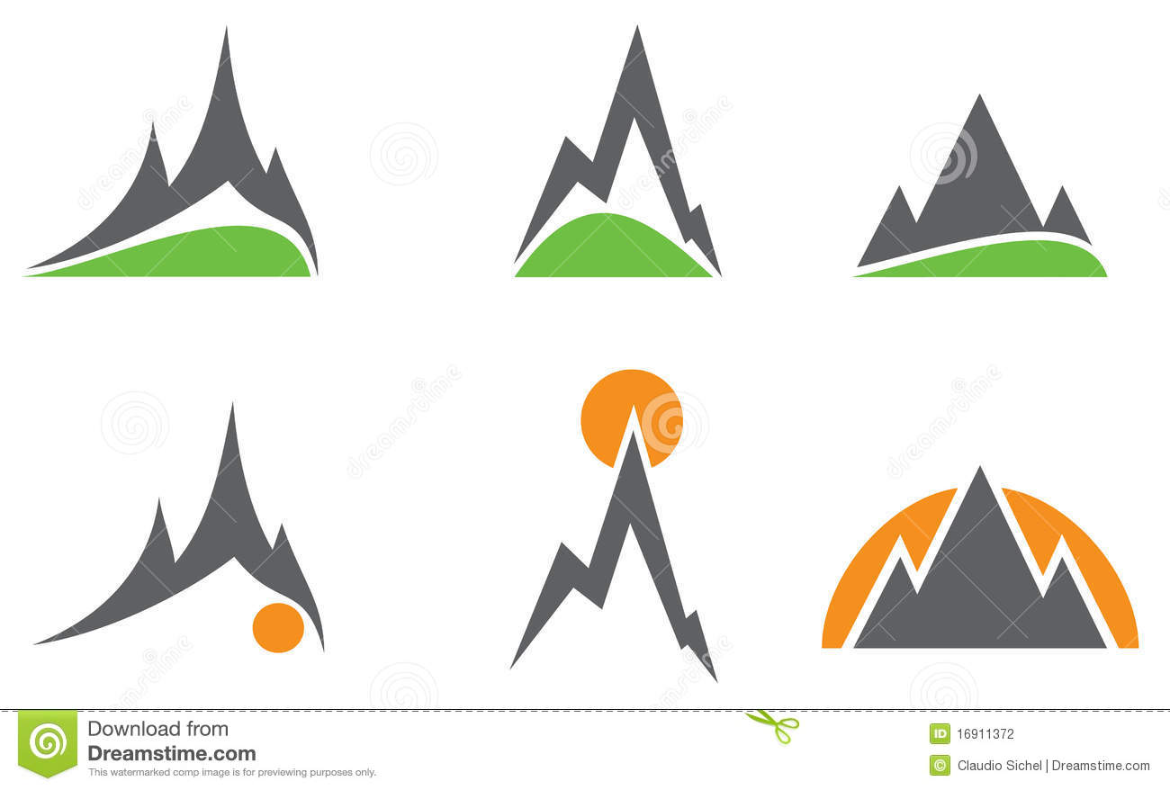 Logo with Mountain Peak