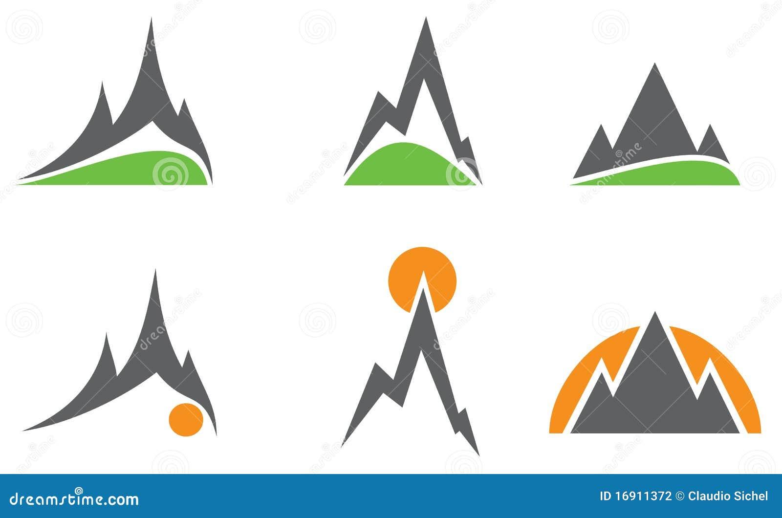 Mountain Logos Stock Photography Image 16911372