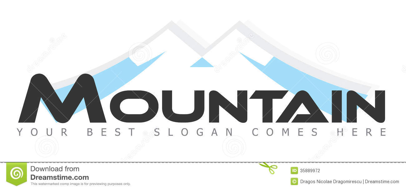Mountain Logo Stock Photography Image 35889972
