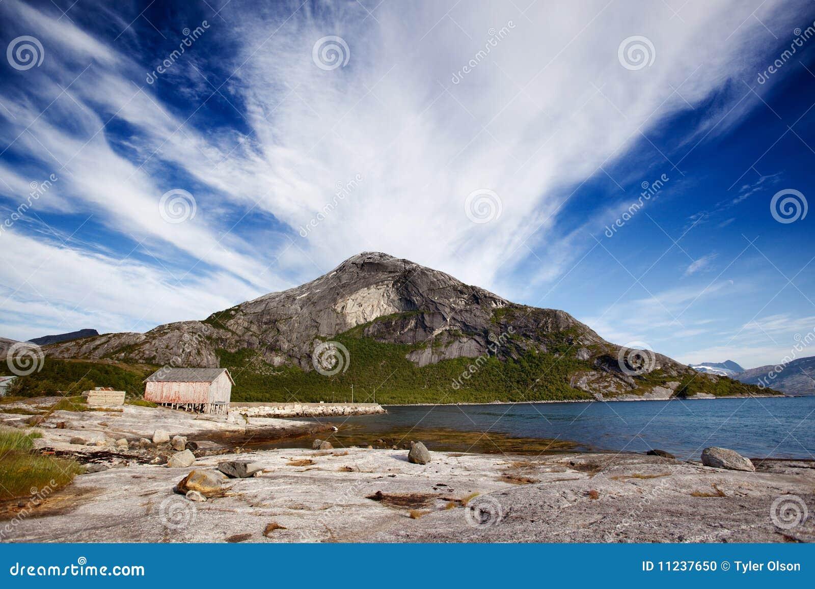 Mountain Norway Coast