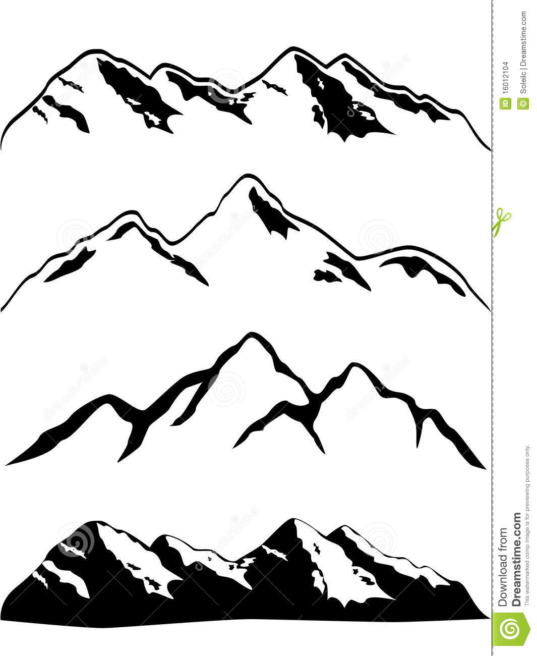 Mountain Line Drawing Mountain peaksMountain Peak Outline
